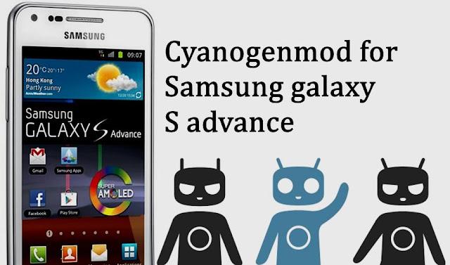 Cyanogenmod 12.1 rom on galaxy s advance Gt-I9070 Janice