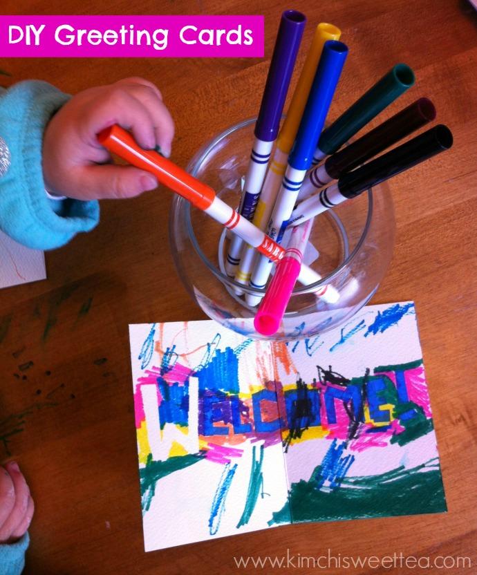 DIY Greeting Cards | Toddler Crafts