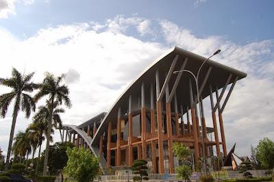 Perpustakaan Soeman H.S, Taman Baca di Pekanbaru