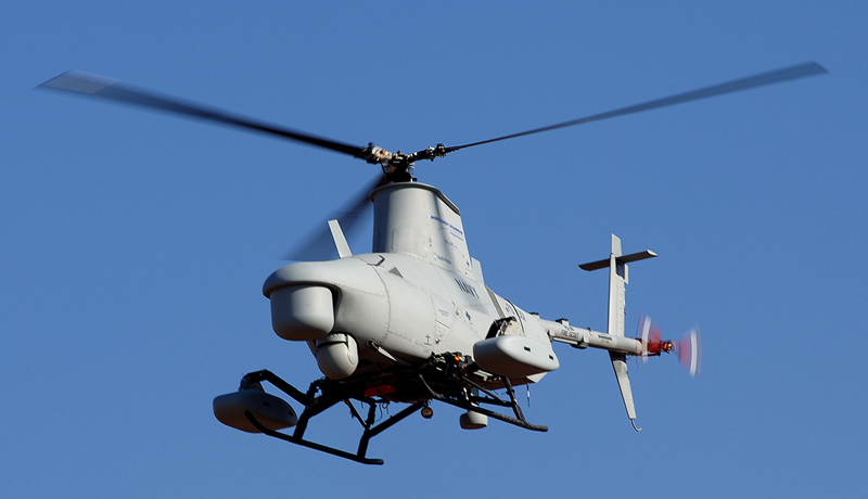 MQ-8B Fire Scout Navy Unmanned Aerial Vehicle