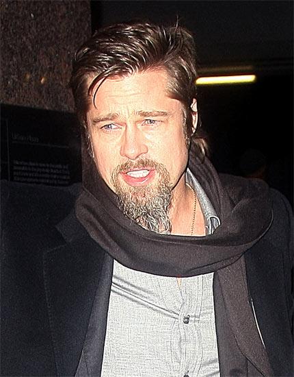 Latest Hollywood Hottest Wallpapers: Brad Pitt Beard 2009