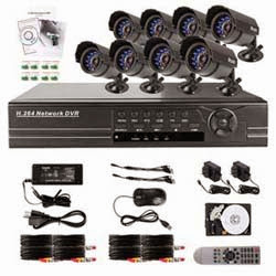 Zmodo PKD-DK0855-500GB 8-Channel DVR Security System