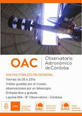 Visitas al OAC