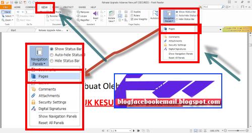 cara membuka PDF autoscroll