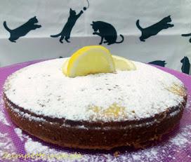 e della torta Caprese al limone