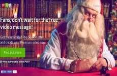 Portable North Pole: para crear mensajes de Papá Noel en video para navidad 2014
