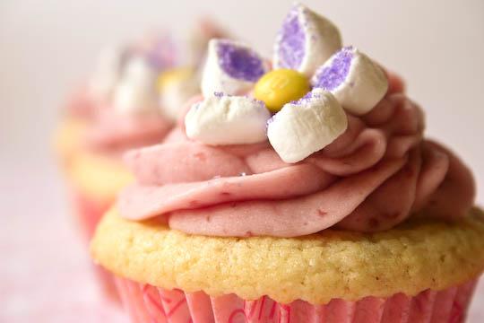 Bakergirl: Lemon Raspberry Cupcakes.