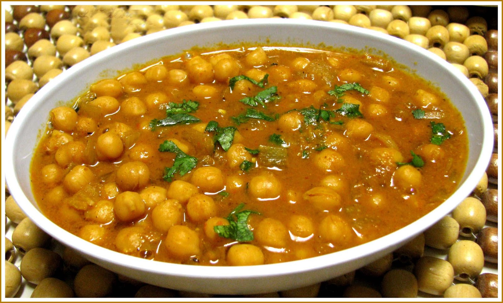 Delicious Recipes: Punjabi Chole | Chick Pea Curry