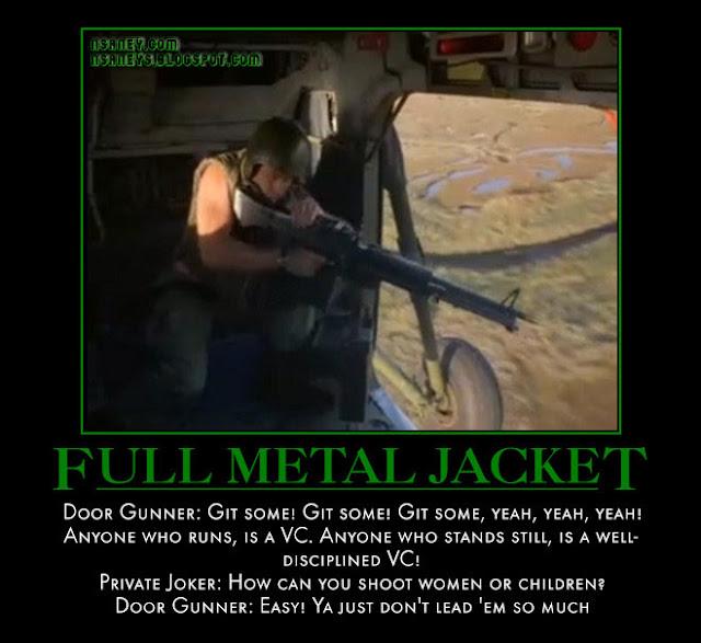 Nsaneyu0026#39;z Posters II: Full Metal Jacket: Door Gunner