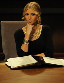 Ivanka Trump in the boardroom