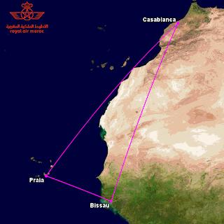 Royal Air Maroc's new Cape Verde route