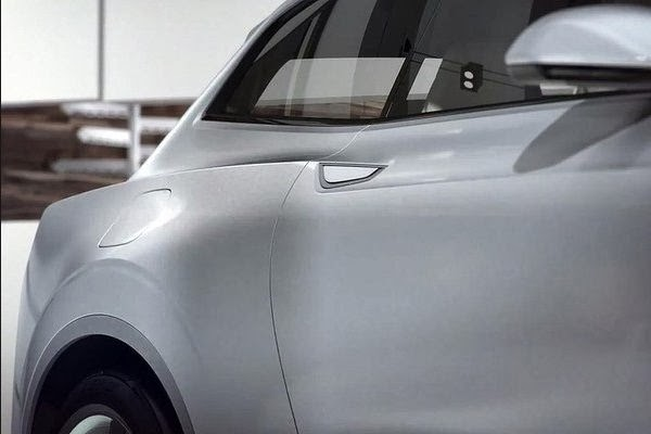 Volvo Concept XC Coupe back side view