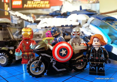 LEGO Avengers Quinjet City Chase set 76032 review