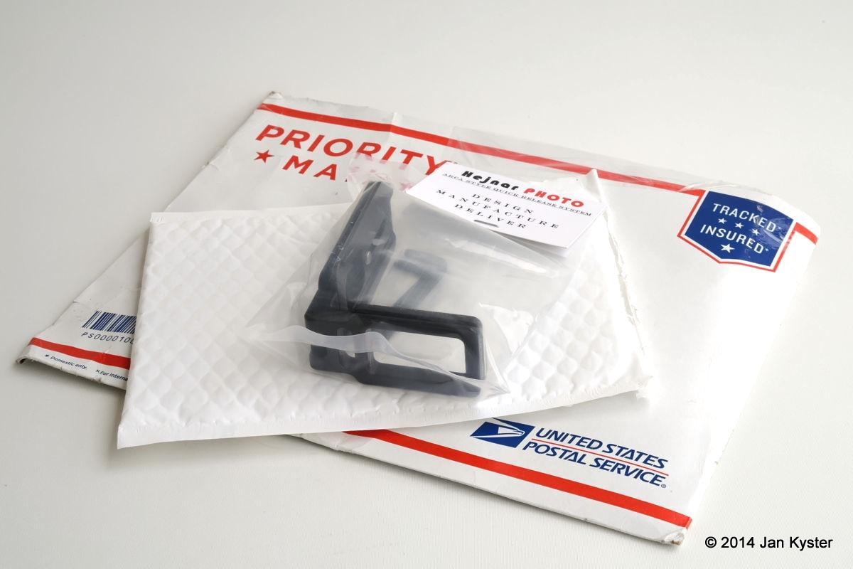 Hejnar ND800 Modular L Bracket packaging