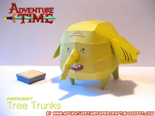 Tree Trunks Adventure Time Papercraft