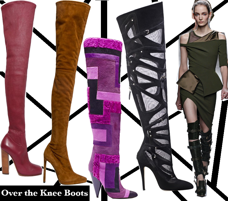 Fall 2013 Over the Knee Boots Trend