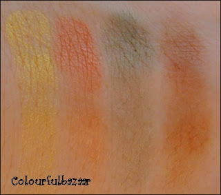 Swatch Flormar Quartet Eye Shadow 408