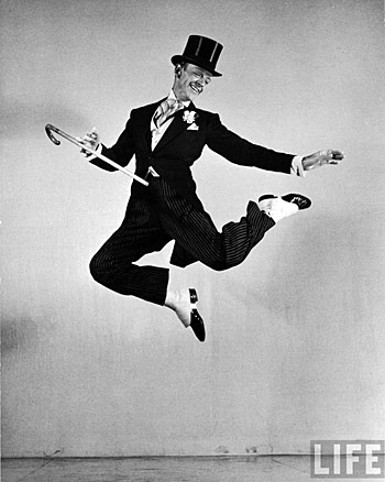 animated Fred Astaire