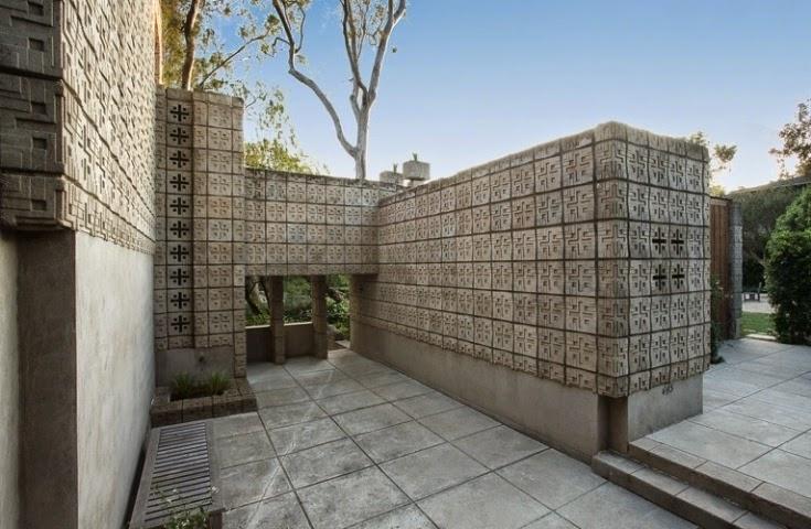 exterior block wall painting ideas