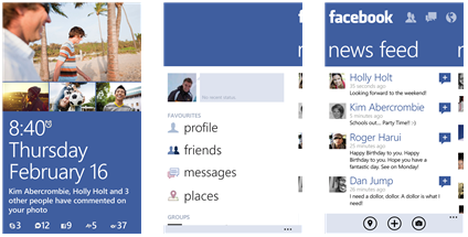 Facebook app for windows phone 8