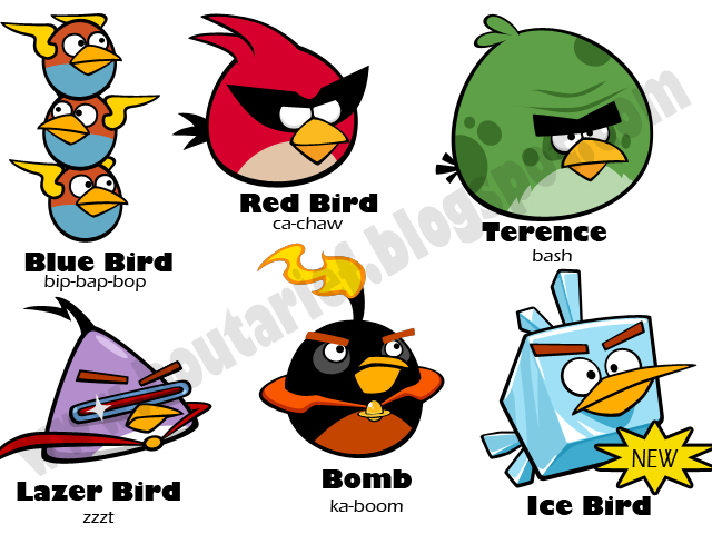 gallery for angry birds space characters names