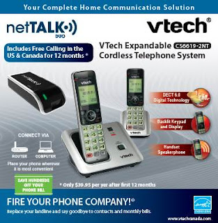 Image: The netTALK DUO is a versatile digital phone device that allows users to make crystal clear calls over the Internet and has all of the features of a phone company, without sacrificing call quality and reliability, all you need is high-speed Internet and a home phone handset