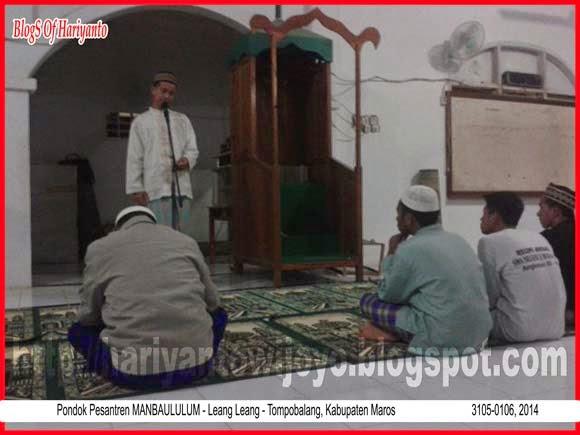 Ajar Mengajar di Pondok Pesantren Mambaululum Kabupaten Maros