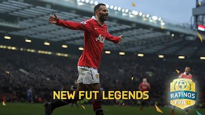 Stats nuevas Leyendas FIFA 16 Ultimate Team