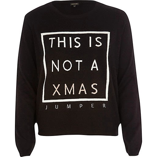This is not an xmas jumper river island