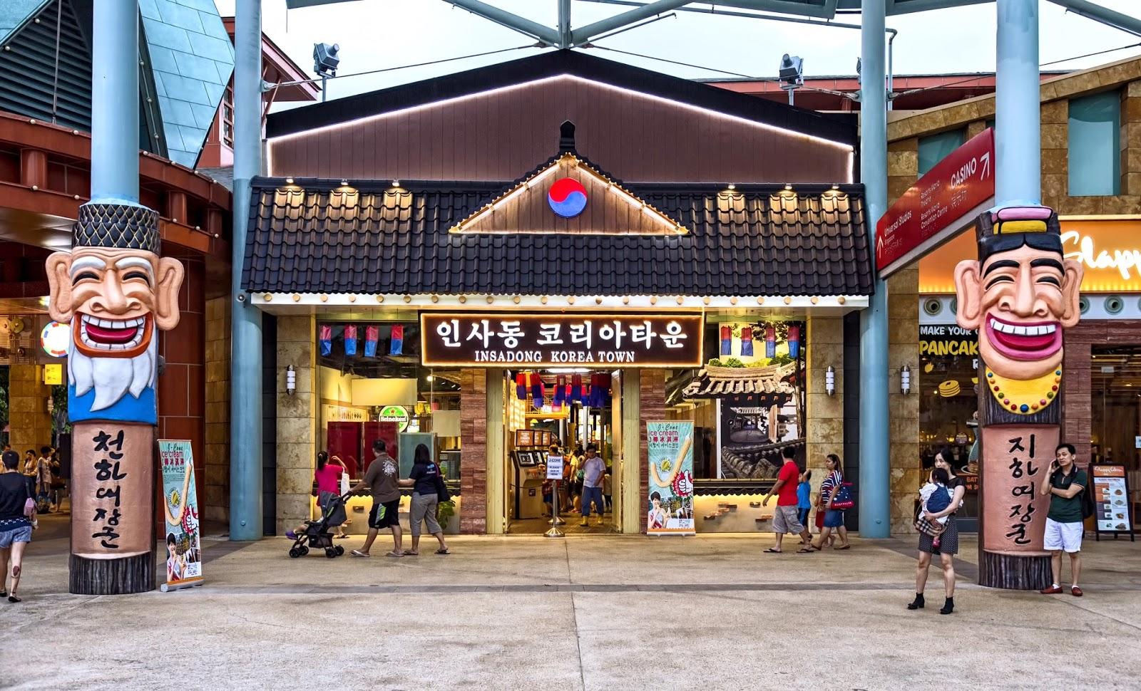 insadong korean town kaiting hearts