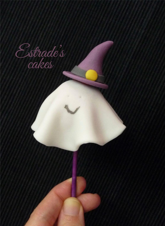 cake pop de fantasma - 3