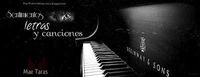 Sentimientos, letras y canciones.