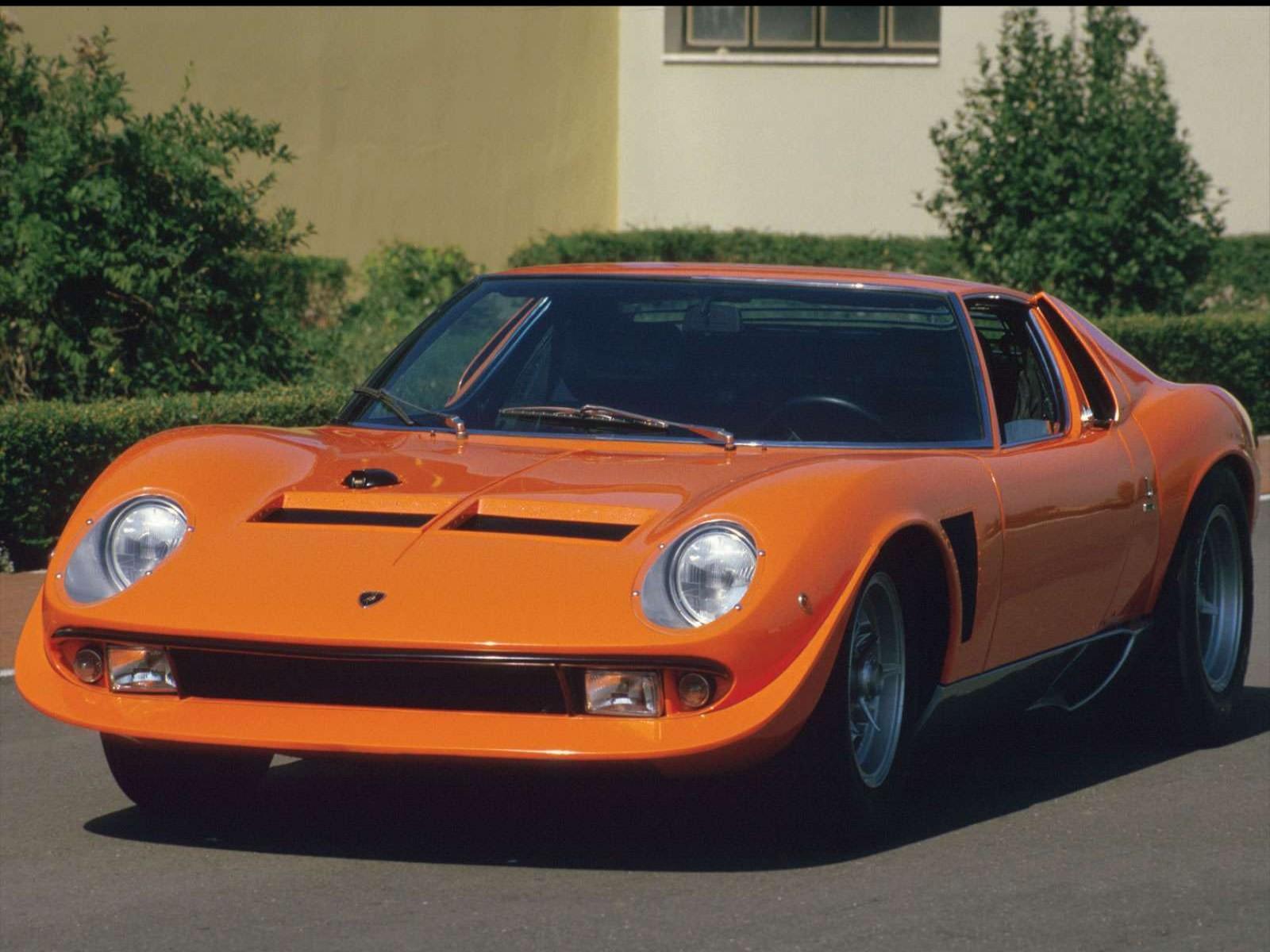 The Petrol Stop Lamborghini Miura Jota