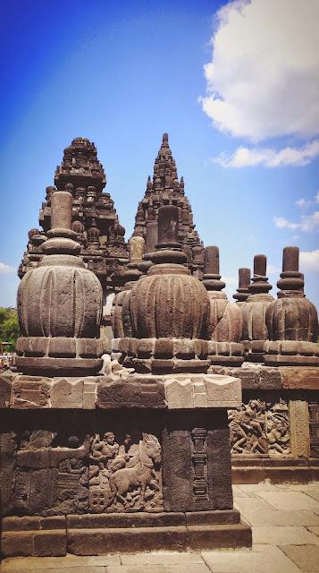 Yogyakarta Prambanan Walls