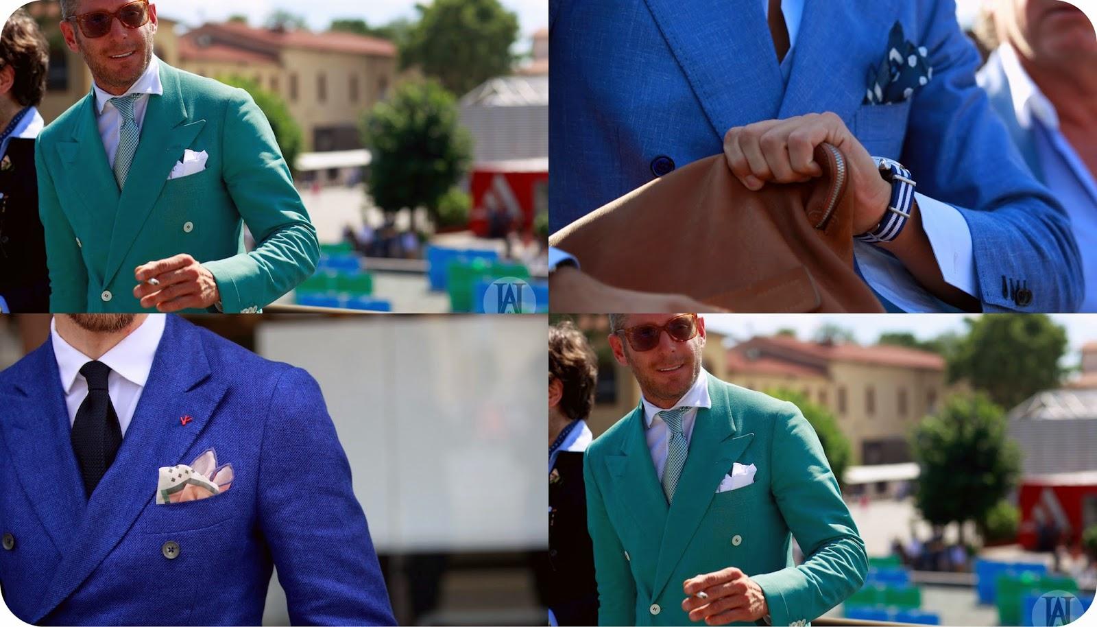 Как сделать красивый платок в карман пиджака