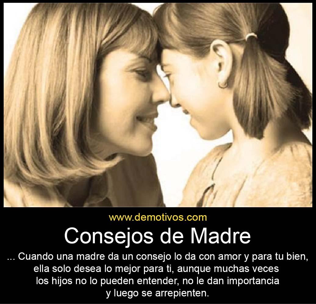 Consejo de una madre