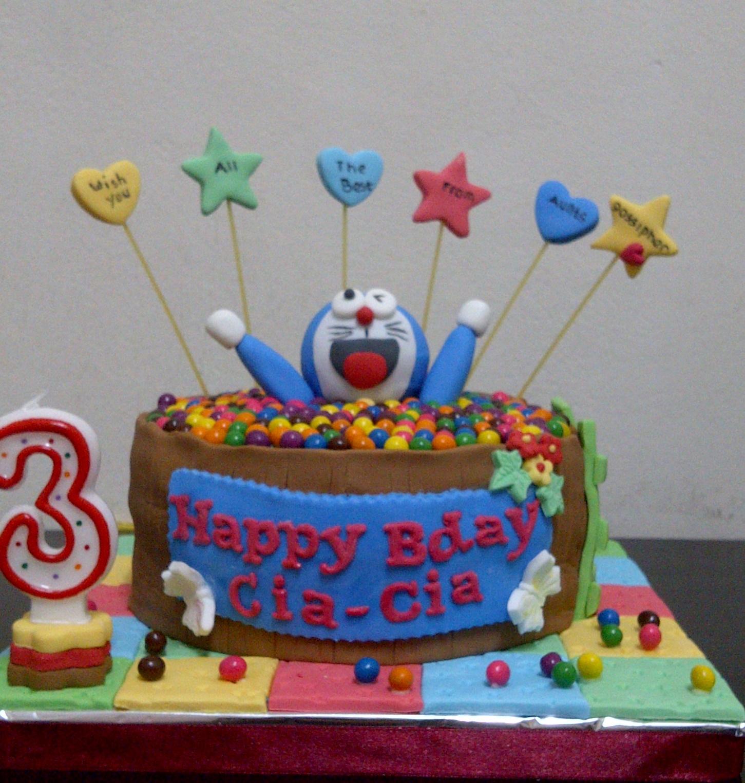 Doraemon Images For Cake : Mama Bee: Doraemon Cake for Cia-Cia