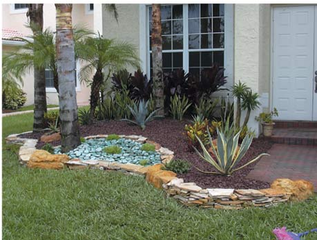 Cheap front yard landscaping ideas for Cheap landscaping ideas