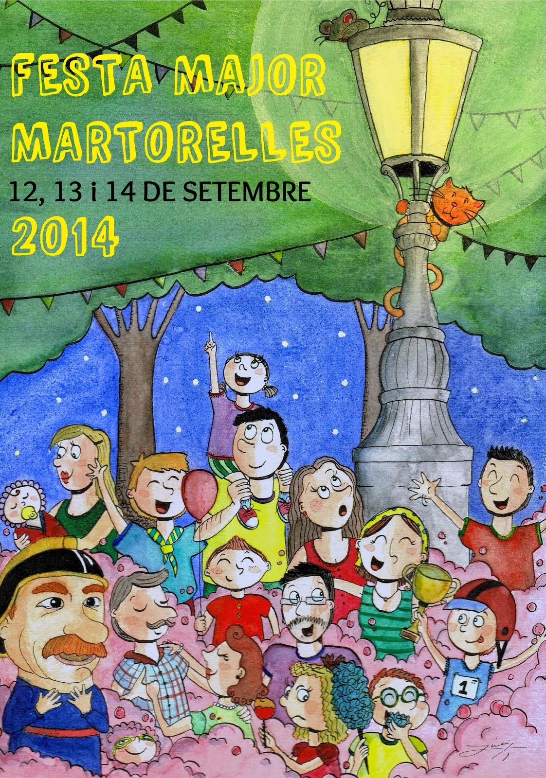 Cartell Festa Major Martorelles 2014