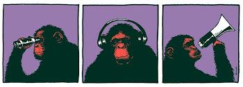 Chega de ser macaco de auditório!