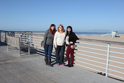 Katie, Stacy, and Sarah at Hermosa Beach