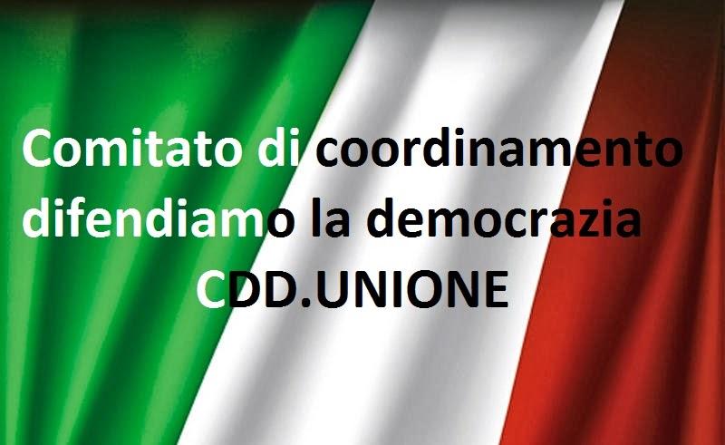 CDD COMITATO DIFENDIAMO LA DEMOCRAZIA
