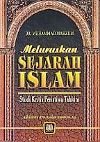 toko buku rahma: buku MELURUSKAN SEJARAH ISLAM, pengarang mahzum, penerbit pustaka setia