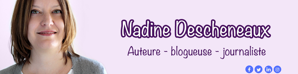 Le site officiel de l'auteure Nadine Descheneaux