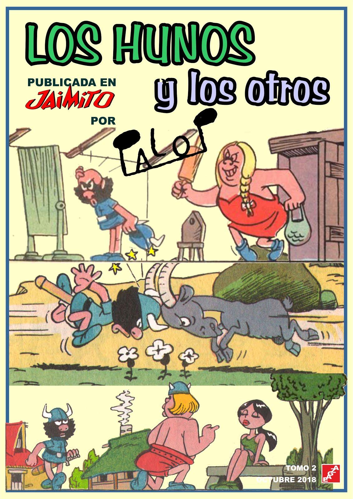 Los Hunos y los otros en Jaimito  - Palop - 2 tomos - EAGZA