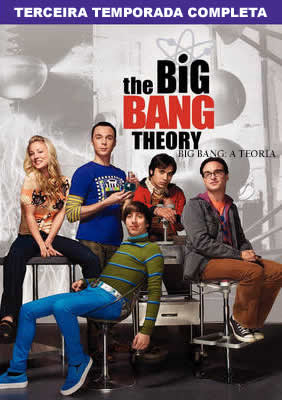 The Big Bang Theory - 3ª Temporada Completa - DVDRip Dual Áudio