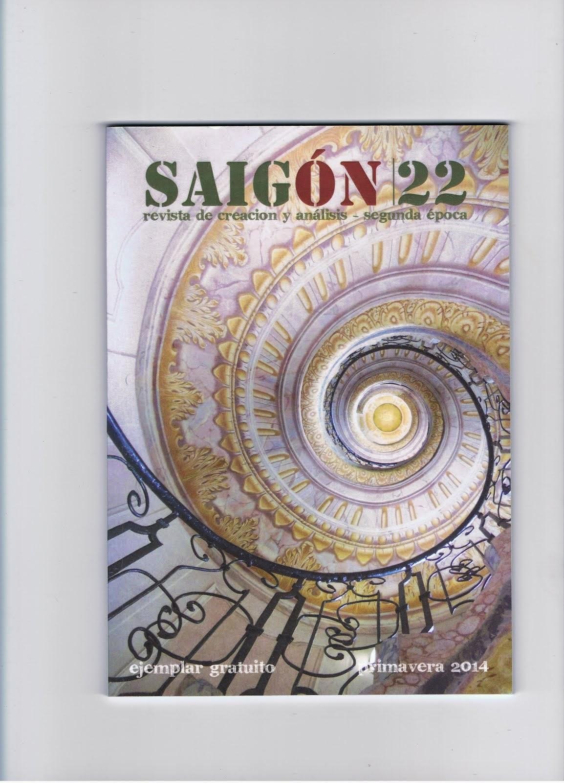 "En ""Saigón"" (nº 22) Primavera 2014"