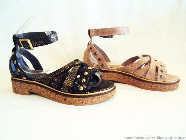 Moda primavera verano 2015 sandalias y zapatos 2015.
