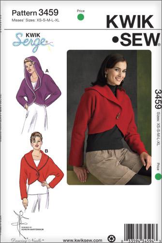 Jillybejoyful A Side Trip Down Easy Street Kwik Sew Bed Jacket