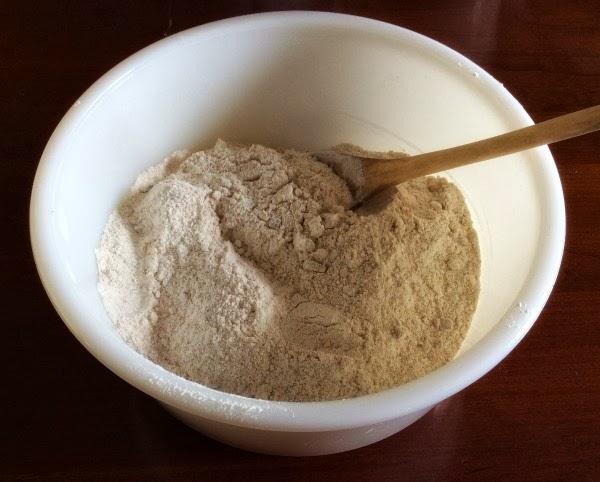 flour for sweet plum bread recipe